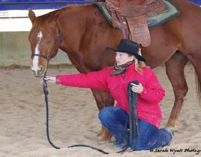 Double reining World Champion Kristine Nesbitt