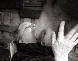 Deb Odom & her colt Nic websized