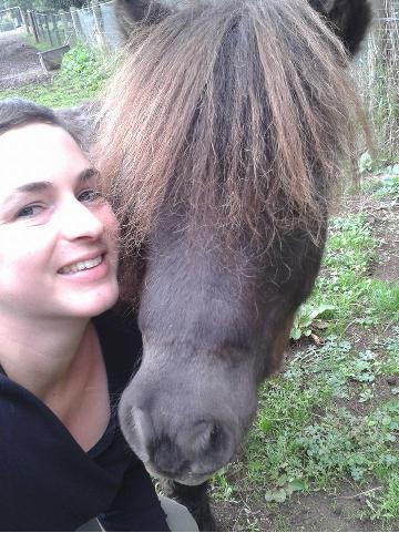 Krsitina selfie with Dom